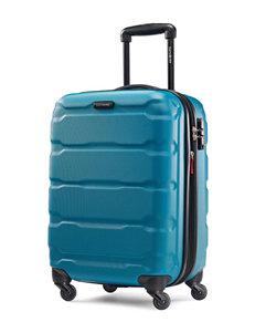 Samsonite Blue Upright Spinners