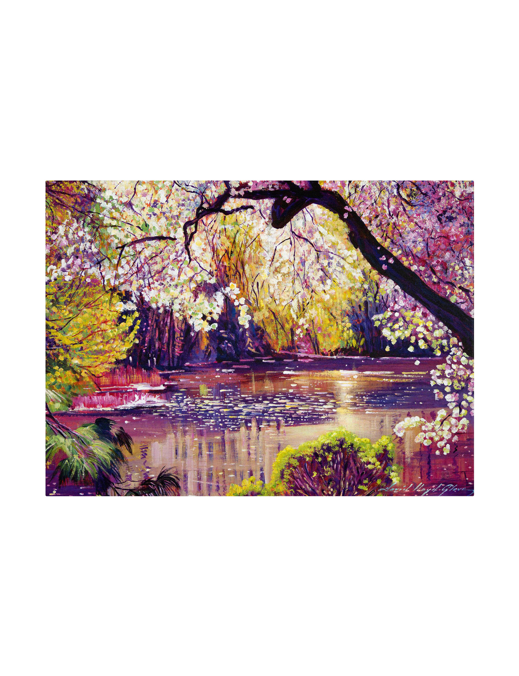 Trademark Fine Art Purple Wall Decor
