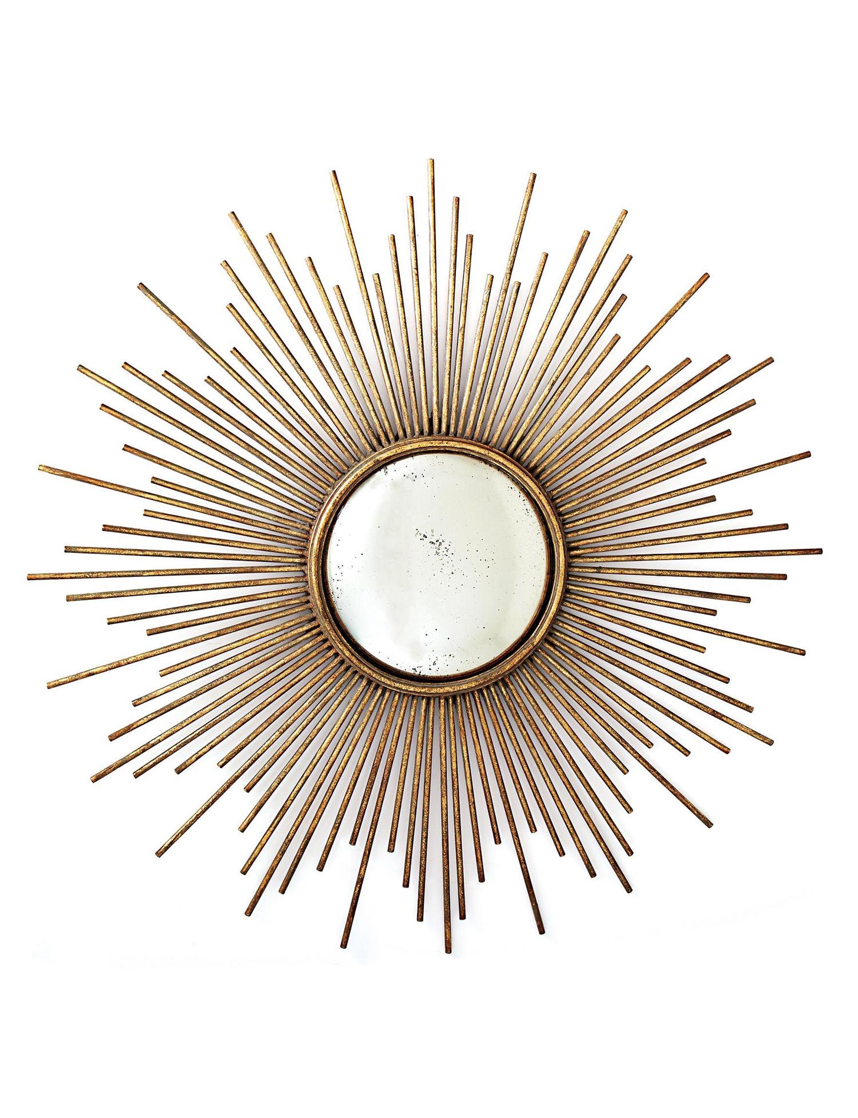 Two's Company Gold Mirrors Wall Decor