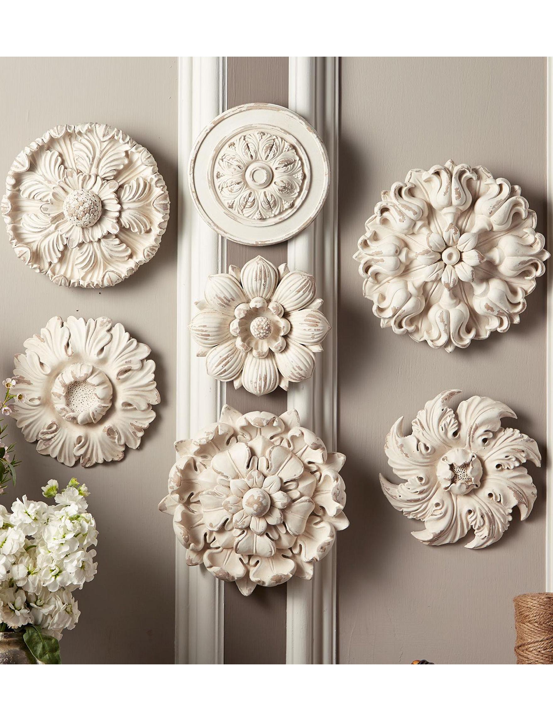 Two's Company White Decorative Objects Wall Art Wall Decor