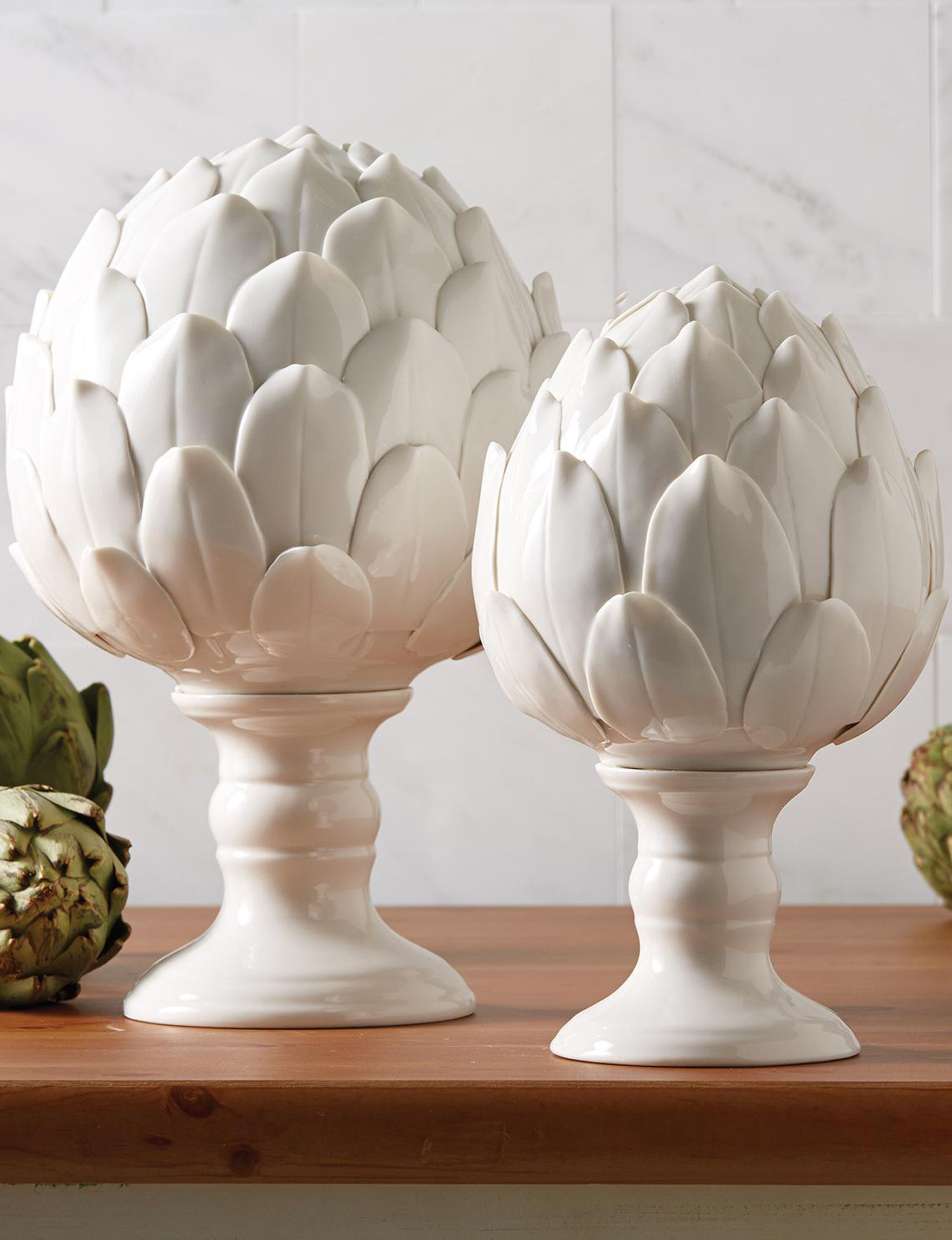 Two's Company White Decorative Objects Home Accents
