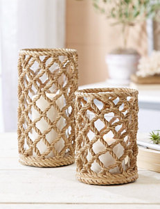 Two's Company Natural Candles & Candle Holders Home Accents
