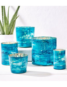 Two's Company Blue Candles & Candle Holders Home Accents