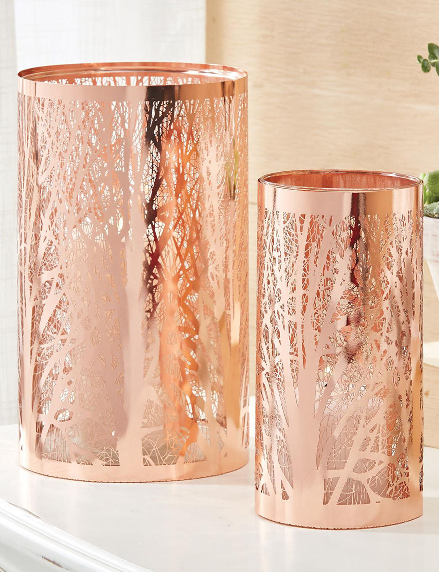 Two's Company Copper Candles & Candle Holders Home Accents