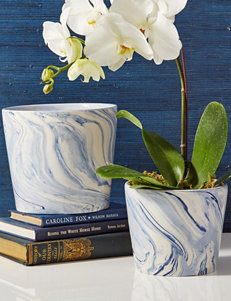 Two's Company Blue / White Vases & Decorative Bowls Home Accents