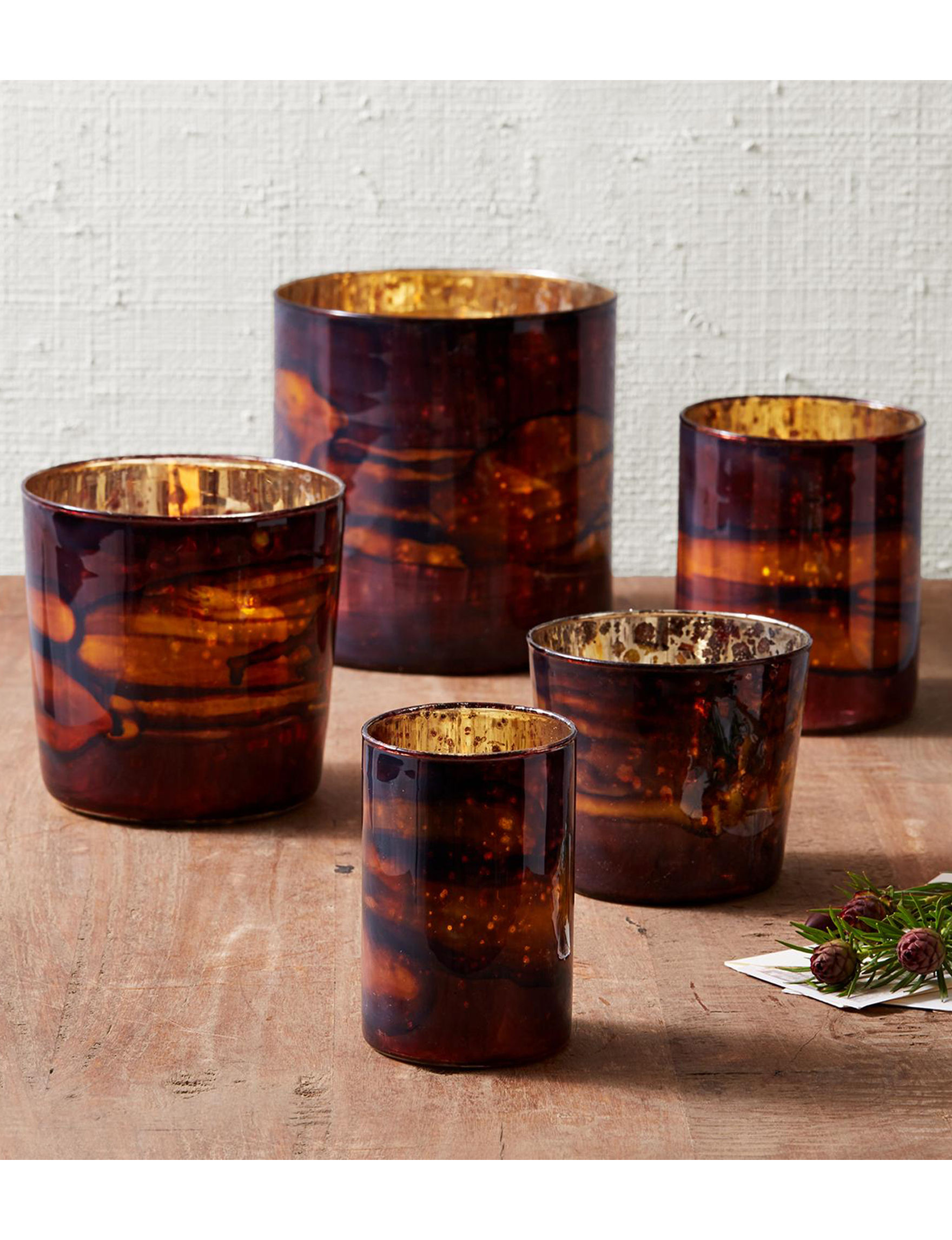 Two's Company Brown Candles & Candle Holders Home Accents