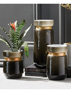 Two's Company Black Vases & Decorative Bowls Home Accents