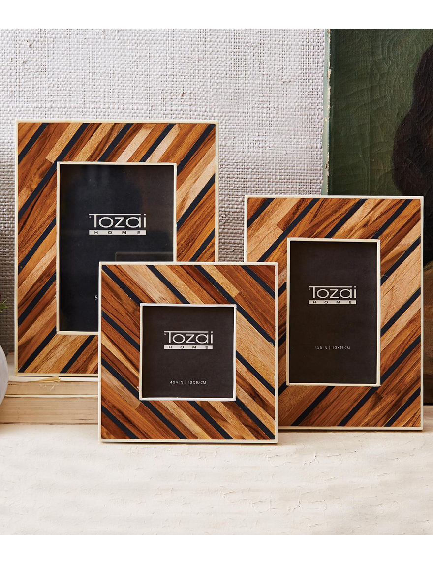 Two's Company Brown Frames & Shadow Boxes Home Accents