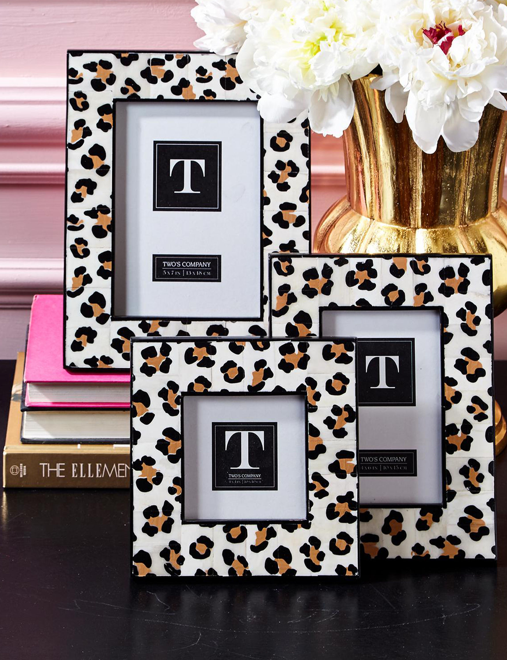 Two's Company Leopard Frames & Shadow Boxes Home Accents