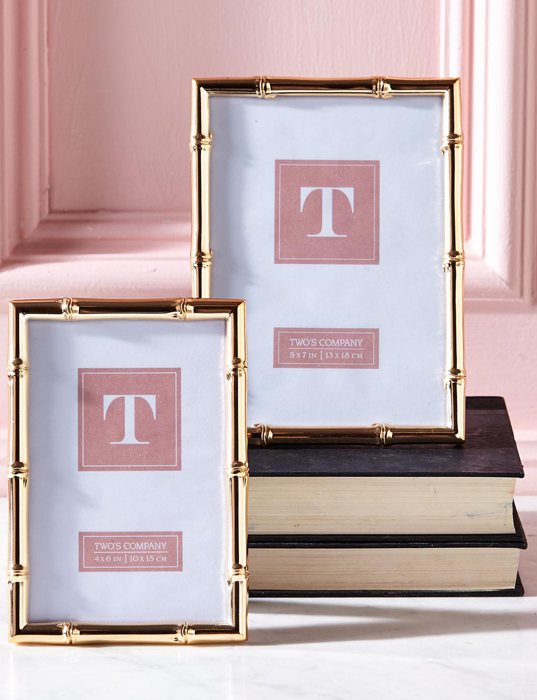 Two's Company Gold Frames & Shadow Boxes Home Accents