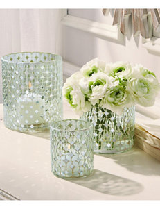 Two's Company Clear Candles & Candle Holders Home Accents
