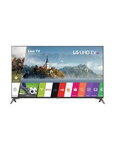 LG Black TV & Home Theater