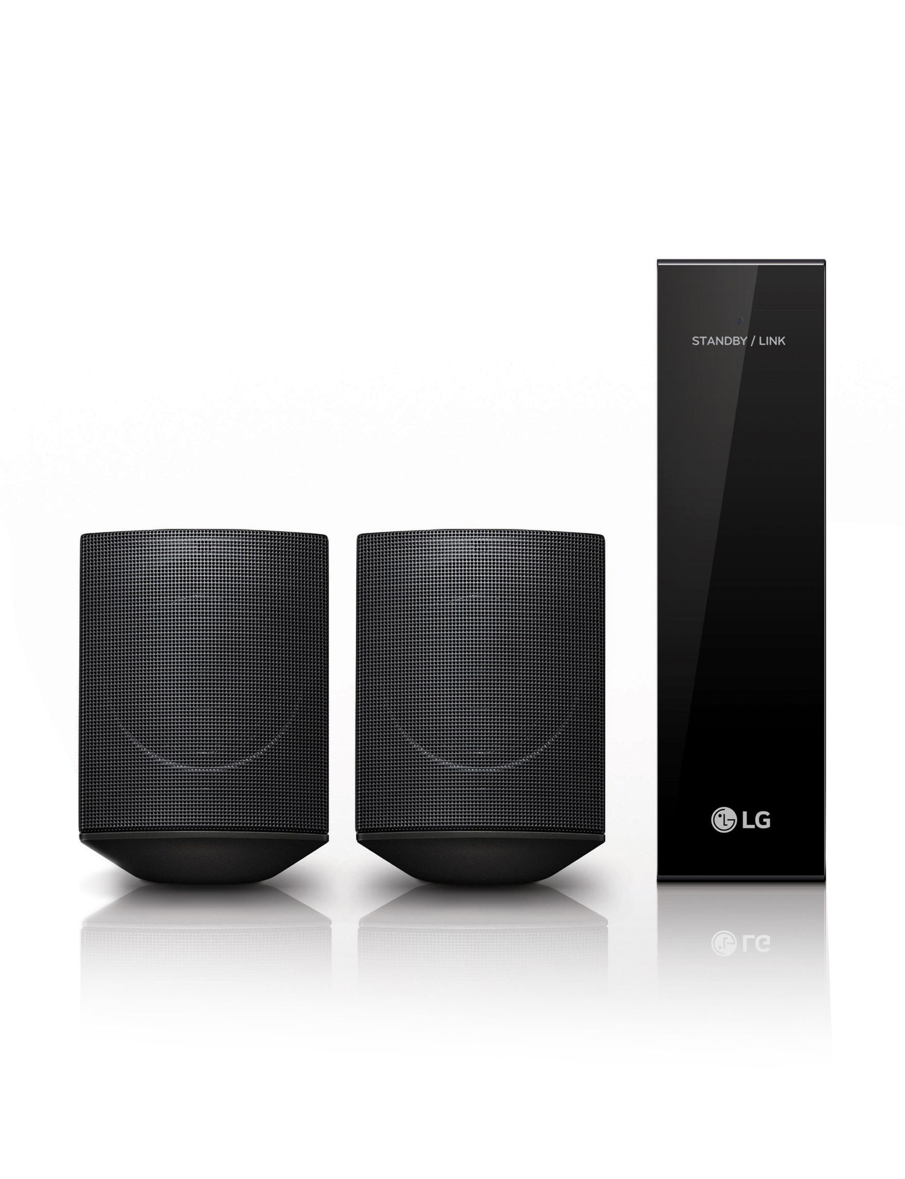 LG Black TV & Home Theater