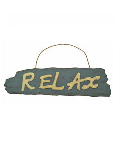 Fancy That Gift Relax Plaque