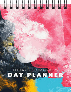 TFI Publishing Abstract Art Day Planner