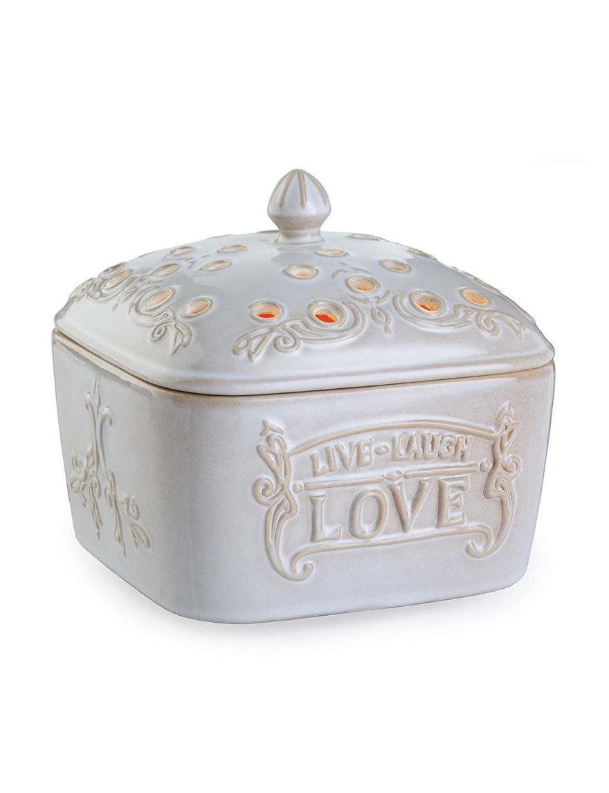Candle Warmers Cream Candles & Candle Holders Home Accents