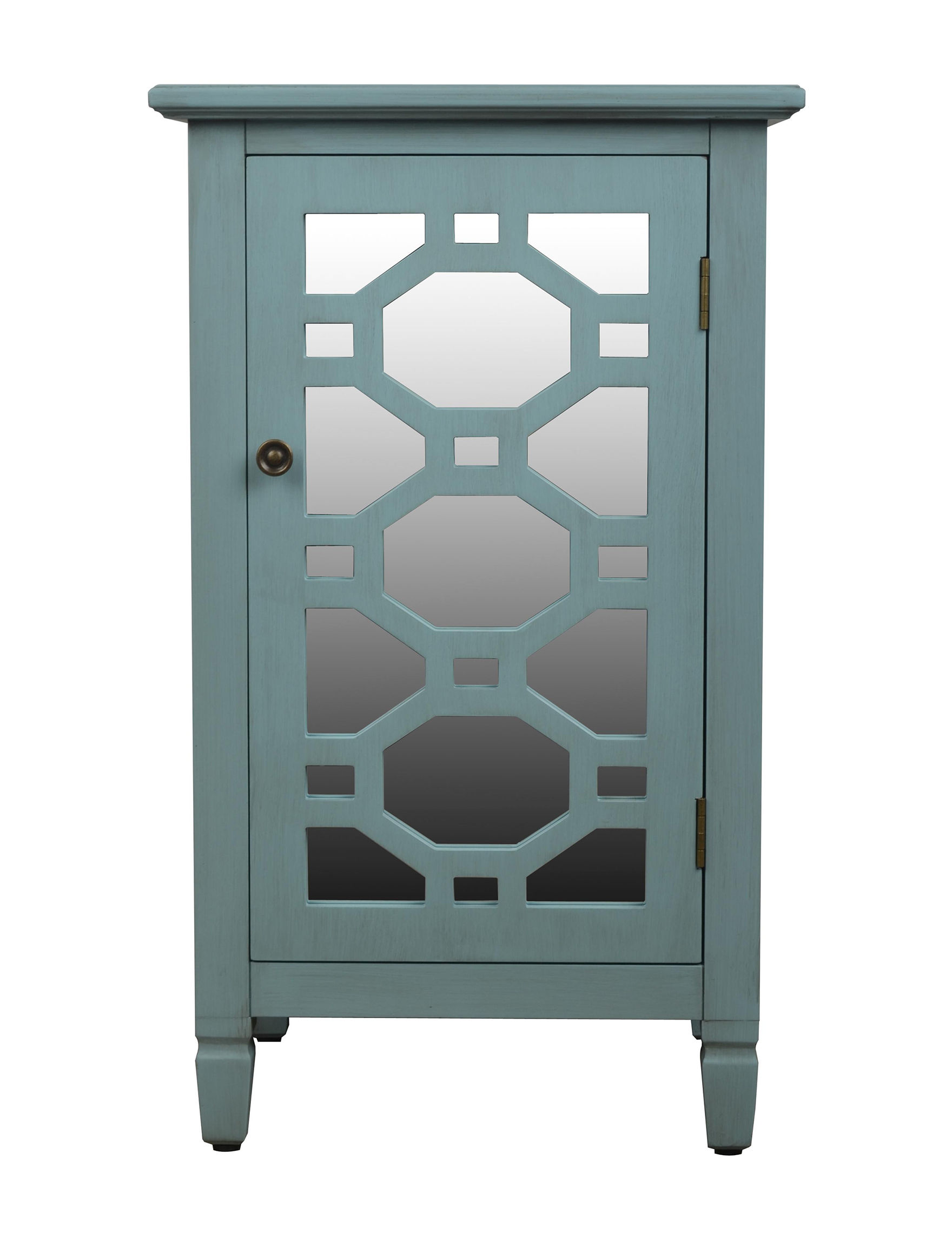 Decor Therapy Blue Cabinets & Cupboards Bathroom Furniture Kitchen & Dining Furniture
