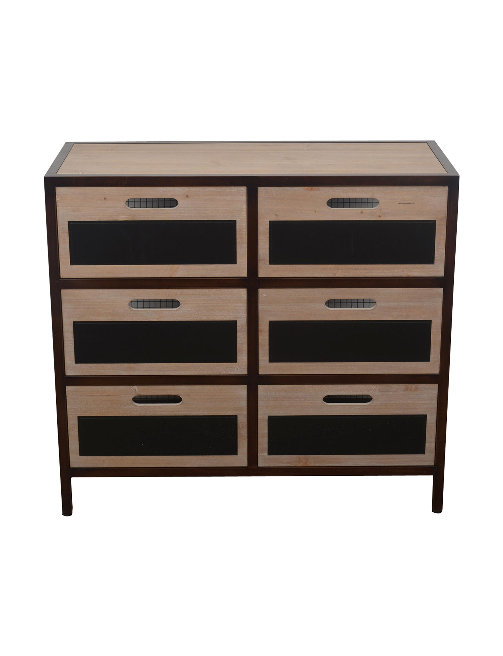 Decor Therapy Brown Dressers & Chests Bathroom Furniture Bedroom Furniture Entryway Furniture Home Office Furniture