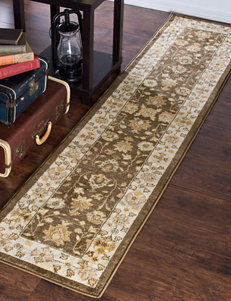 Lavish Home Brown Area Rugs Runners Rugs