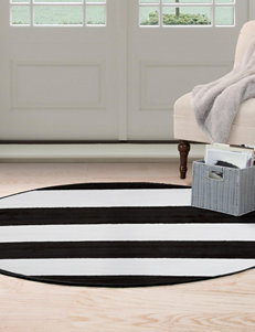 Lavish Home Black/ White Area Rugs Rugs