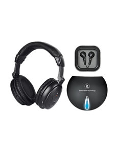 Innovative Technology Black Home & Portable Audio