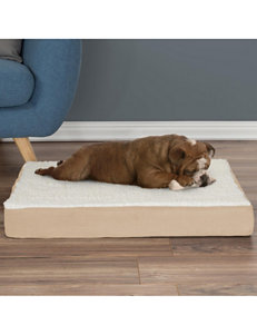 Petmaker Sherpa Topped Pet Bed