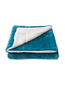 Great Hotels Collection Teal Blankets & Throws