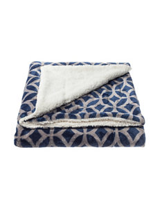 Great Hotels Collection Navy Blankets & Throws