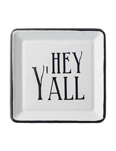 Creative Co-Op Black/ White Serving Platters & Trays Serveware