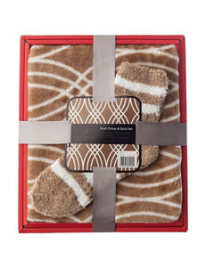 Great Hotels Collection Tan Blankets & Throws