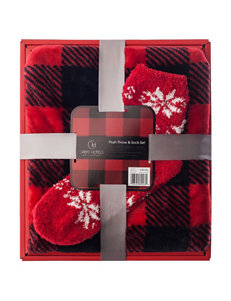 Great Hotels Collection Red Blankets & Throws