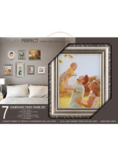 Gallery Solutions Champagne Frames & Shadow Boxes Home Accents