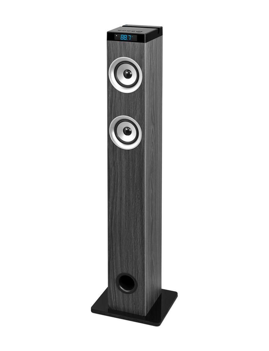 Innovative Technology Grey Speakers & Docks Home & Portable Audio
