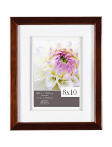 Gallery Solutions Espresso Frames & Shadow Boxes Home Accents