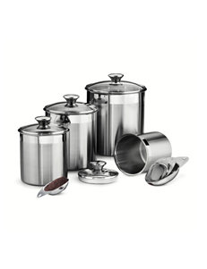 Tramontina Silver Canister Sets Measuring Cups & Spoons Kitchen Storage & Organization Prep & Tools