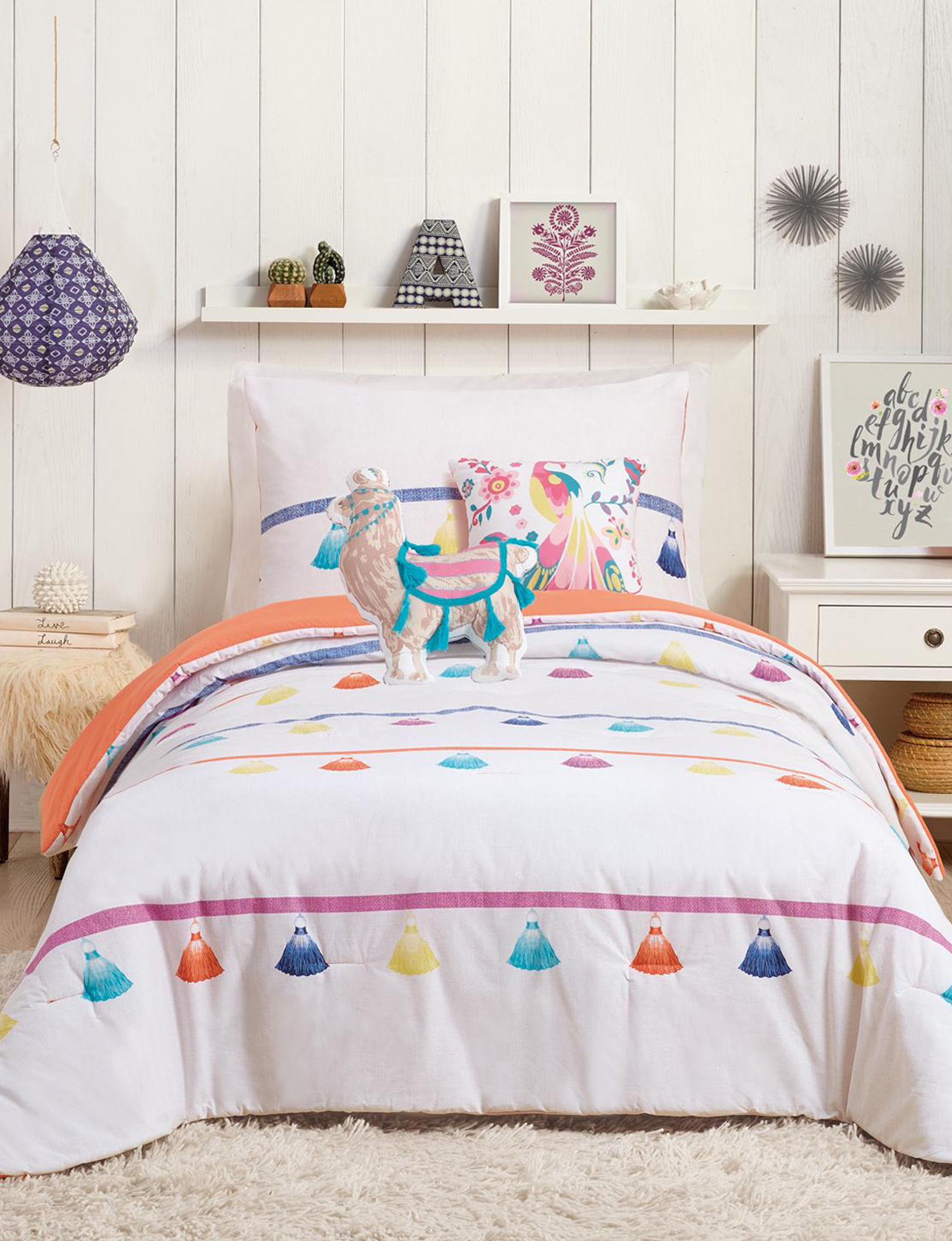 Urban Playground Coral Comforters & Comforter Sets