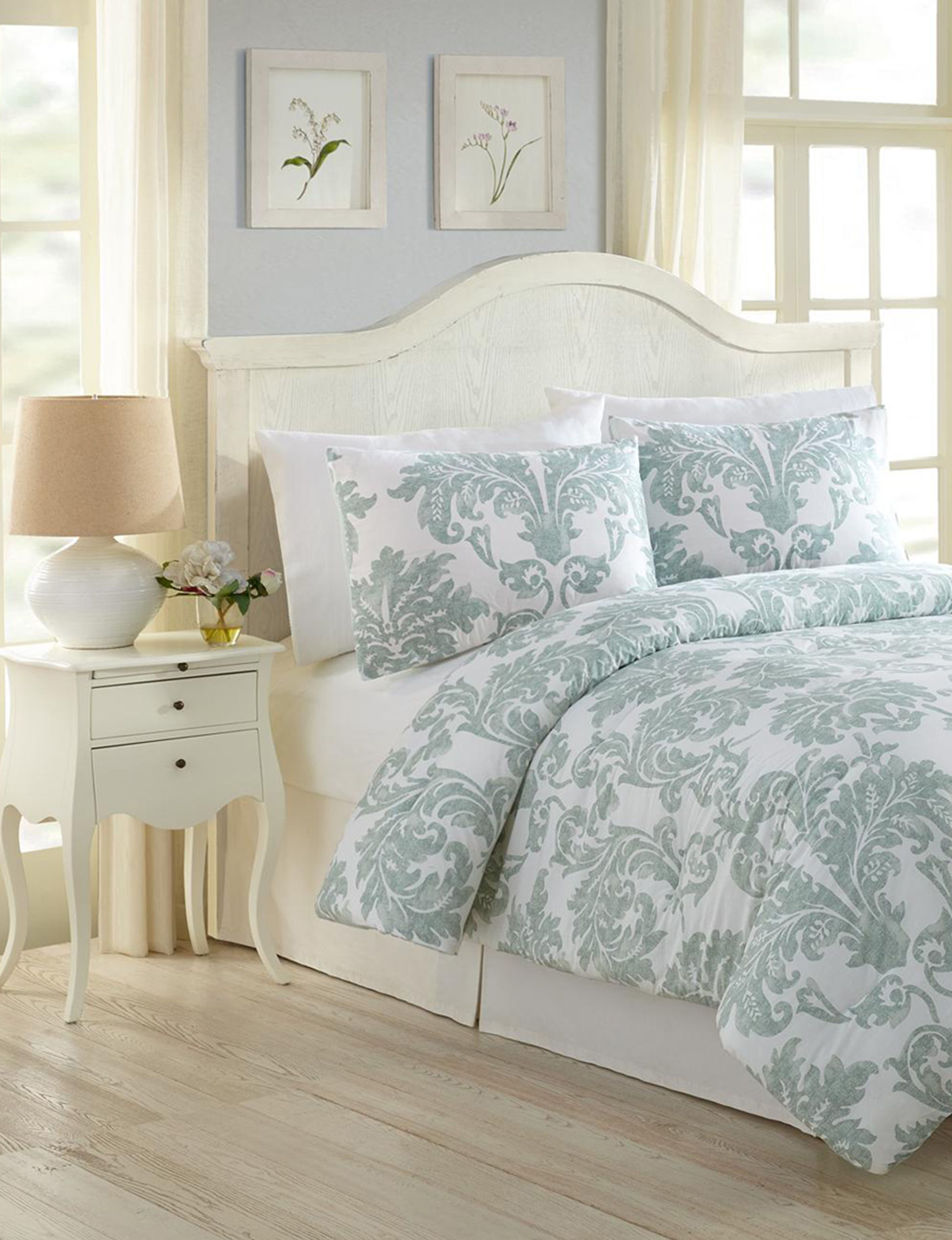 Modern Heirloom Blue Comforters & Comforter Sets