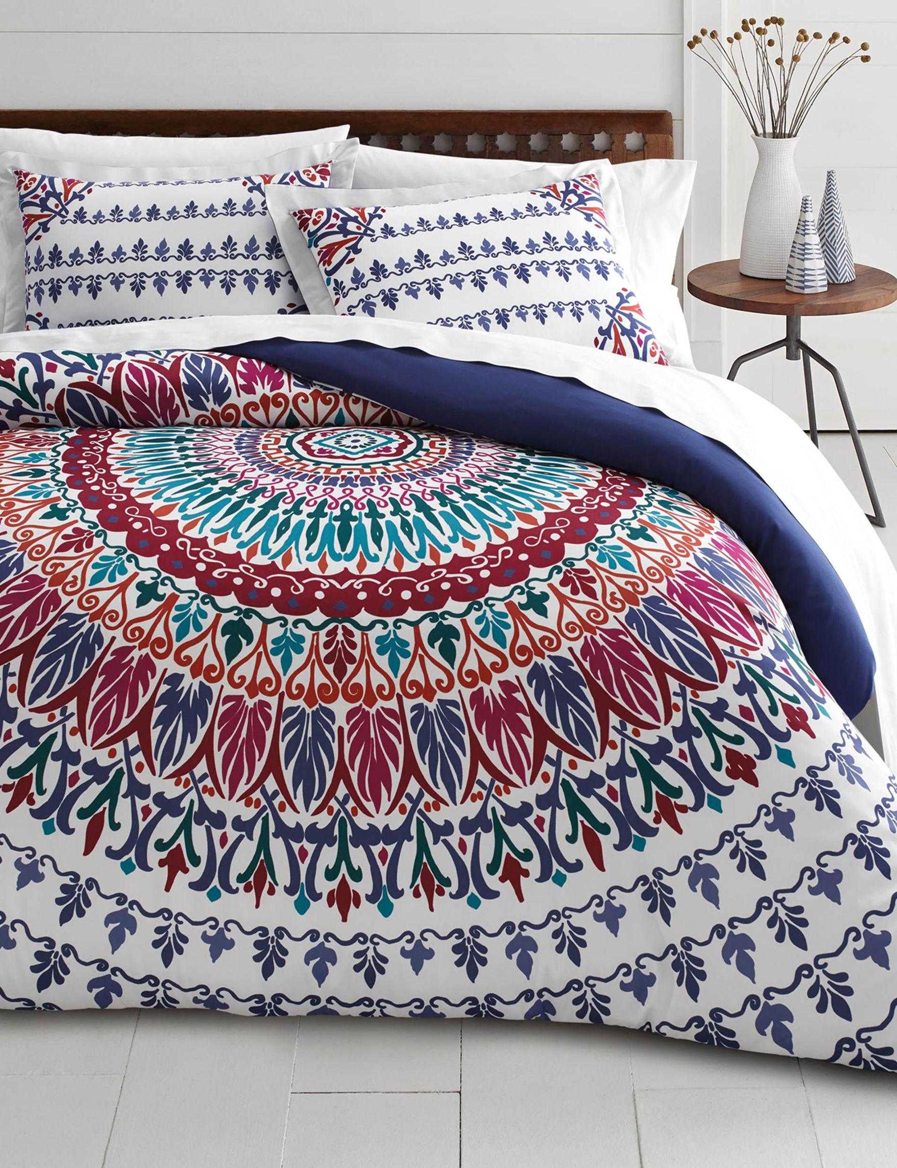 Azalea Navy Comforters & Comforter Sets