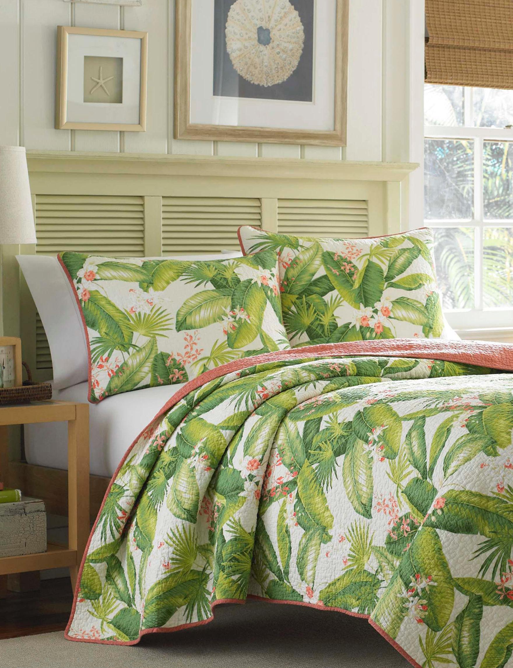 Tommy Bahama Ecru Quilts & Quilt Sets