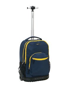 Rockland Navy Bookbags & Backpacks Upright Spinners