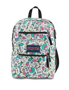 Jansport Green Multi Bookbags & Backpacks