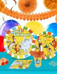 BuySeasons Multi Party Decor Party Tableware