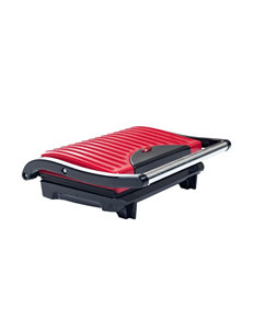 Chef Buddy Red Electric Grills, Griddles & Waffle Makers Cookware Kitchen Appliances