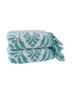 Jessica Simpson Aqua Hand Towels