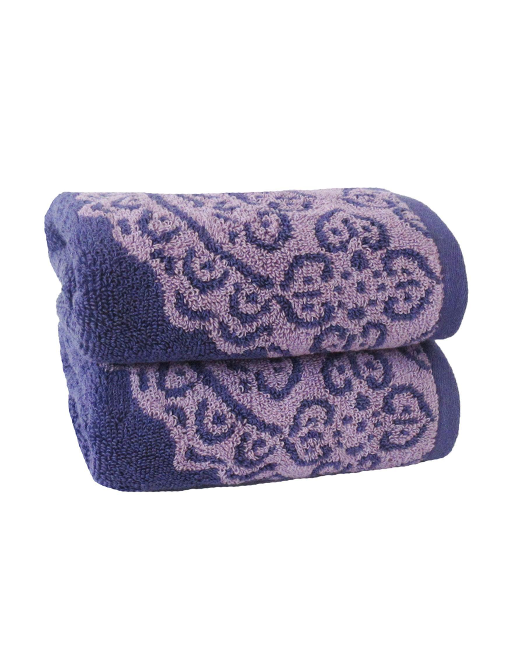 Jessica Simpson Purple Bath Towels Towels