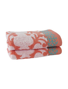 Jessica Simpson Orange Washcloths Towels