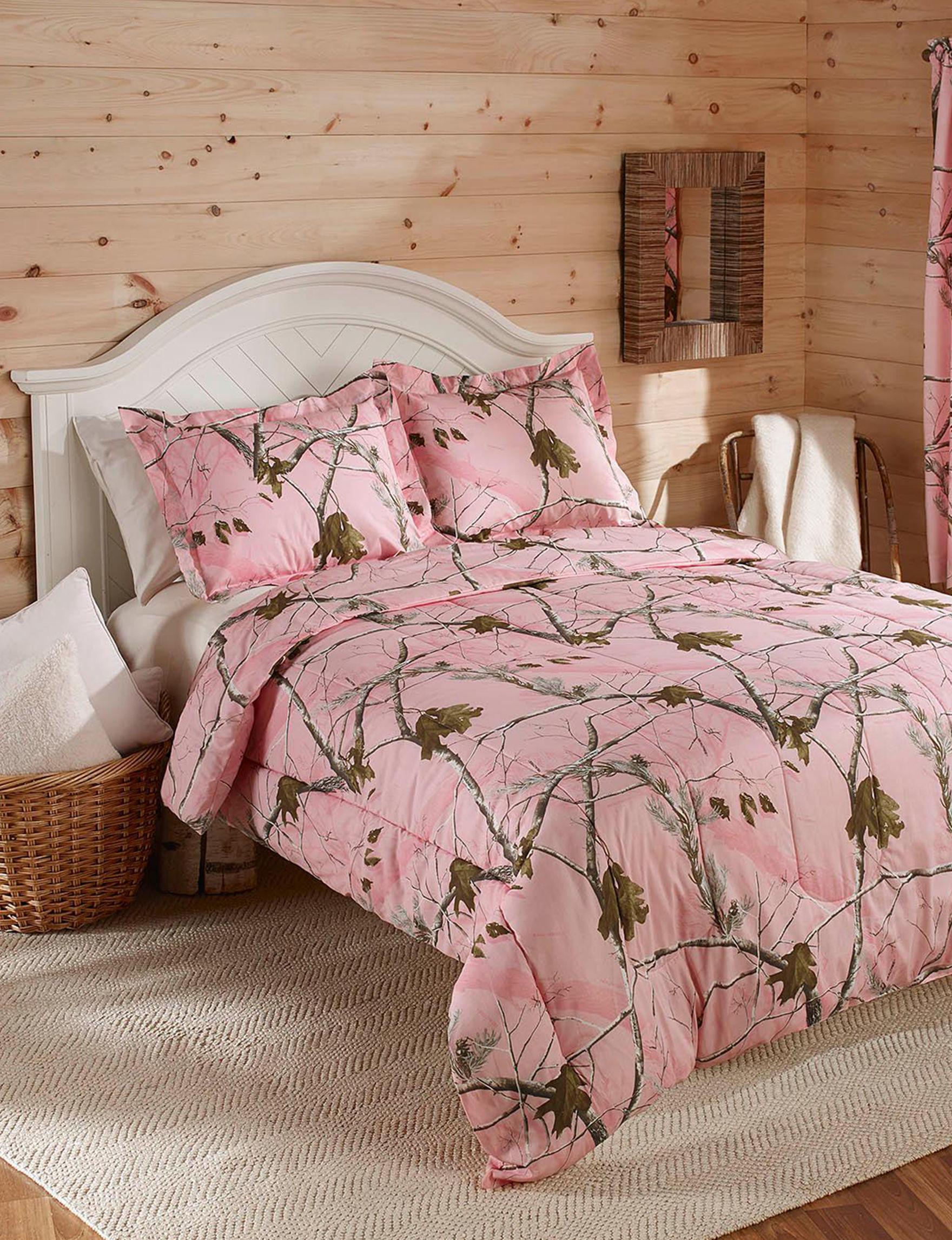 Realtree Pink Comforters & Comforter Sets