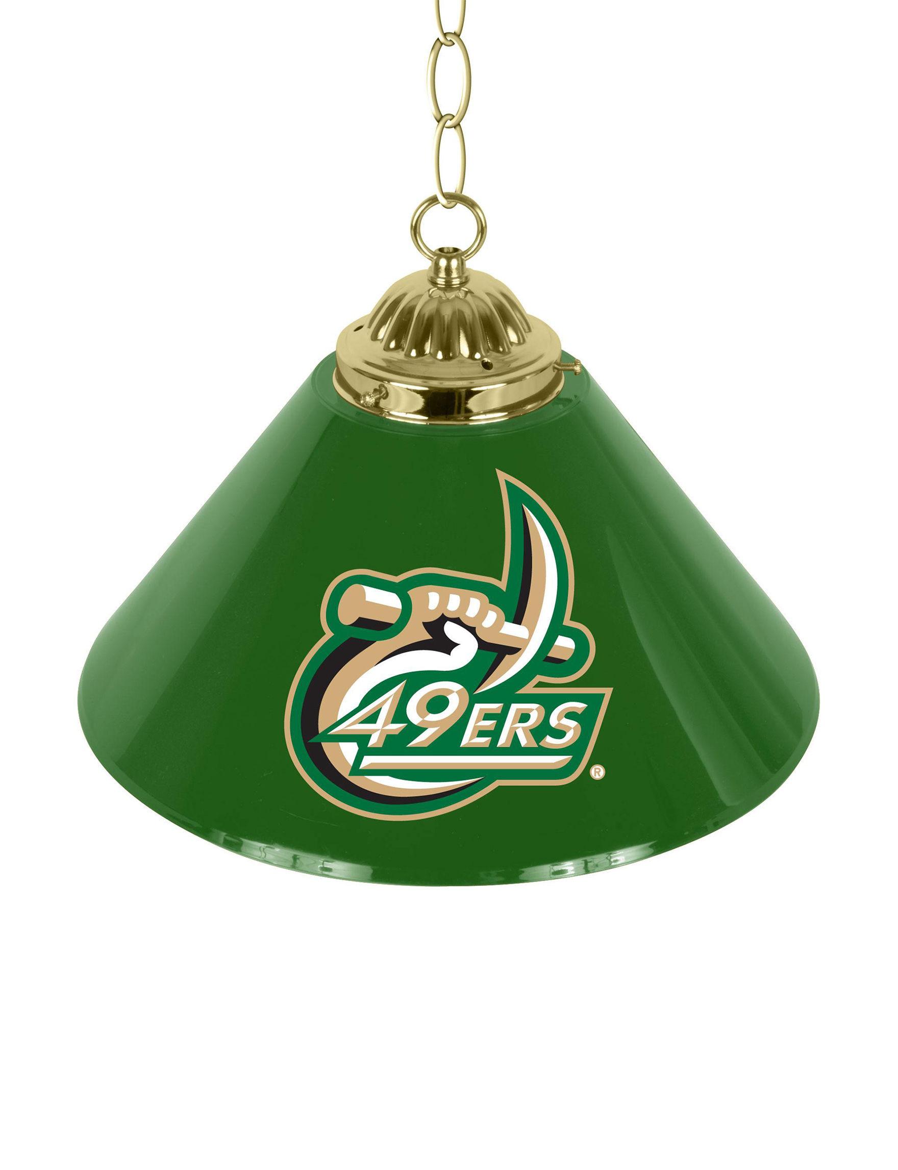 NCAA Green / White Lighting & Lamps NCAA