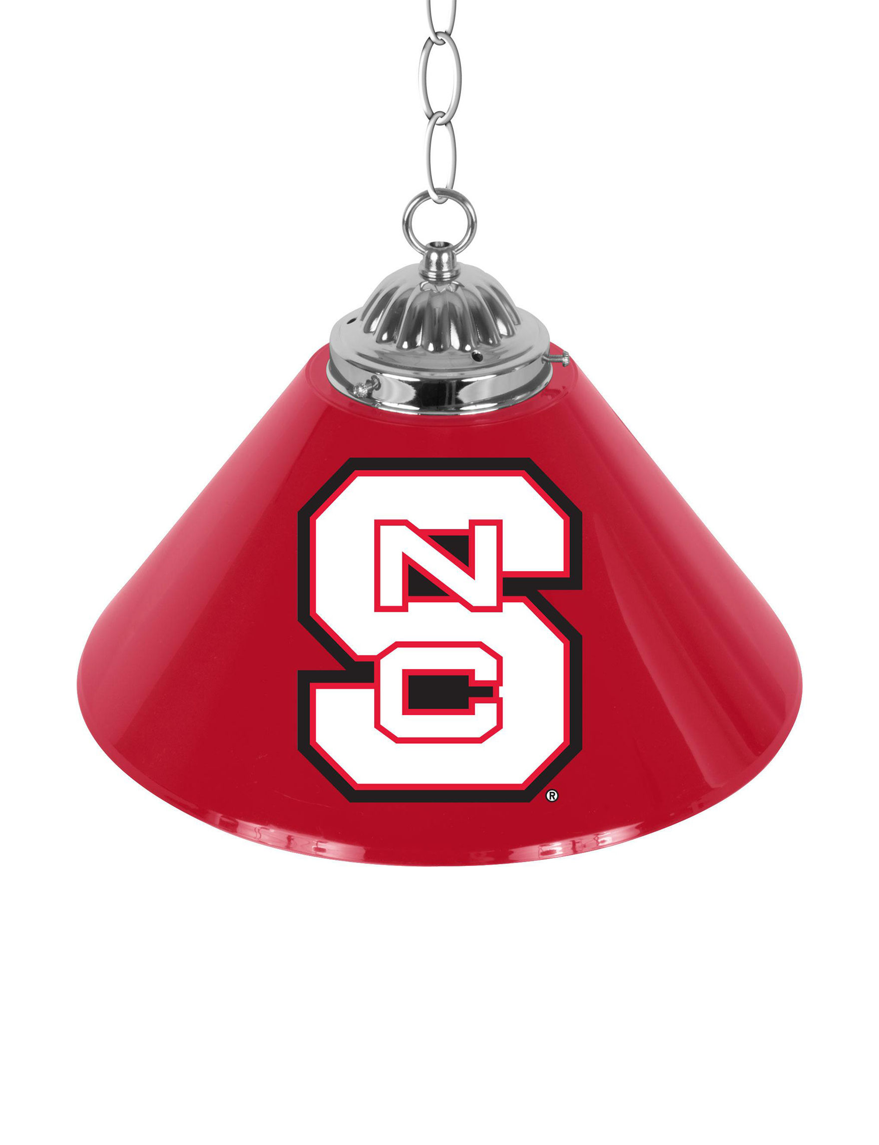 NCAA Red Lighting & Lamps NCAA