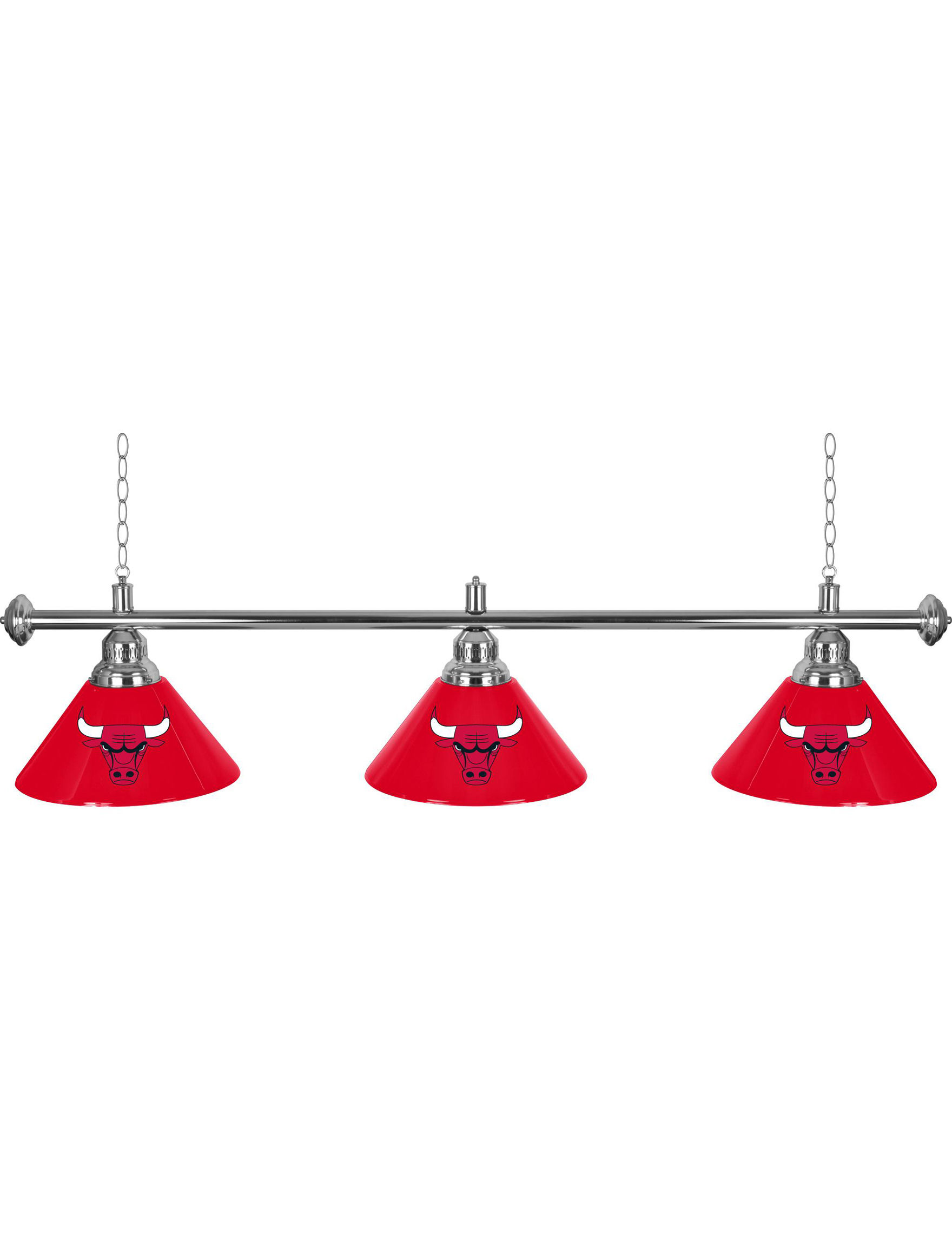 Trademark Global Red Lighting & Lamps NBA